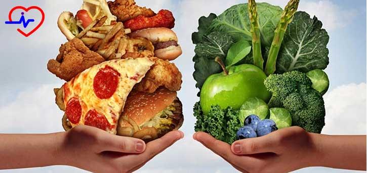 sagliksiz-yiyecek_saglikli-yiyecek