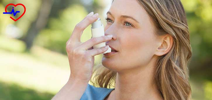 inhaler-kullanan-kadin