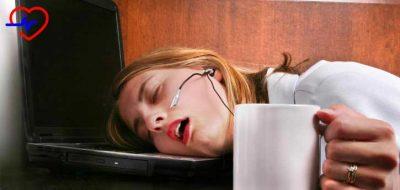 yorgun kadın