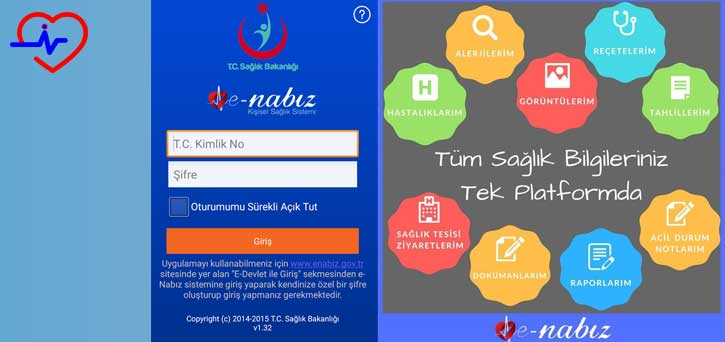 e-nabız hizmetleri