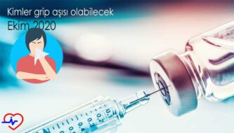 Kimler grip aşısı olabilecek Ekim 2020