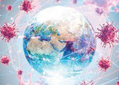 Dünyayı saran covid19 virüsü
